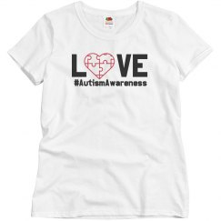 Love Autism Charity Tee