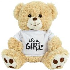It's a Girl Custom Bear