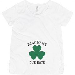 Custom Irish Due Date