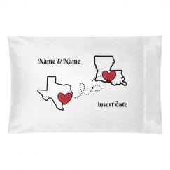 Distance Relationship Pillow