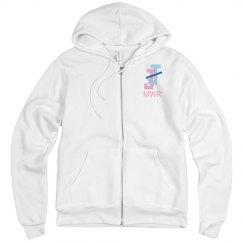 JJ MWR Unisex Zipped Fleece Hoodie