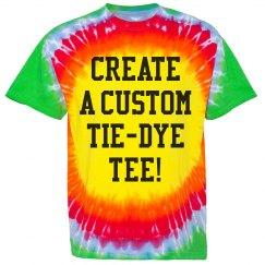 Create a Custom Tie-Dye Tee!