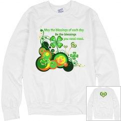 Irish Blessing, Sweatshirt