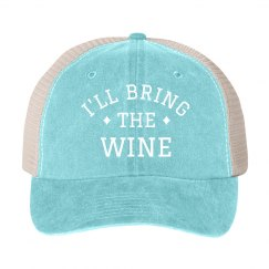 I'll Bring the Wine Bachelorette Hat