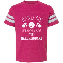 Brother Plays The Marchingband
