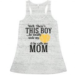 Baseball Mom Yellow