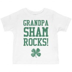 Grandpa Shamrocks St Patrick Kid