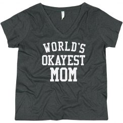 Funny World's Okayest Mom