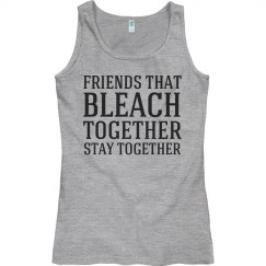 Bleach together