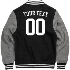 Your Text custom jacket