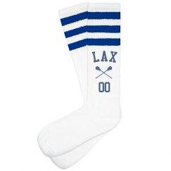 Custom Lacrosse LAX Number