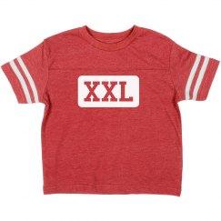 Custom XXL Toddler Football Tee