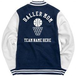 Custom Basketballer Mom