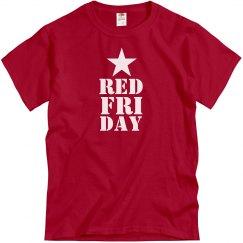 Red Friday Star Mens