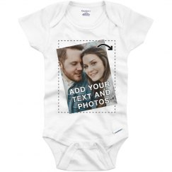 Personalized Onesie with Custom Printing