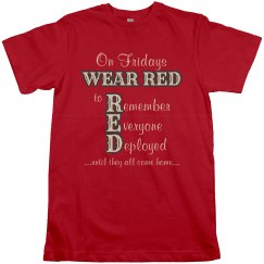 WEAR RED Fridays