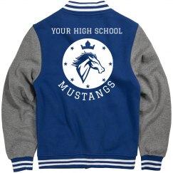 Customizable Mustangs Sports Jacket