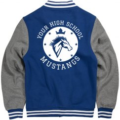 Customizable Mustangs Sports Jacket