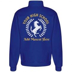 Mustang Laurel Custom School Sweatshirt