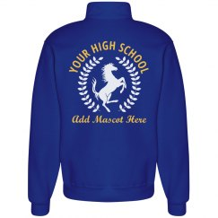 Mustang Laurel Custom School Sweatshirt
