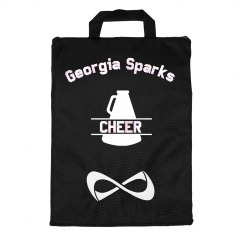 Georgia Sparks NFINITY BLACK UNIFORMER BAG