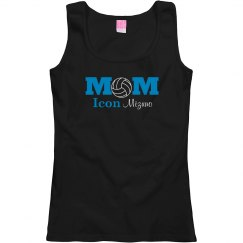 Volleyball Mom Turquoise