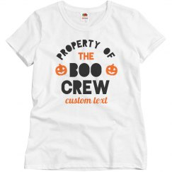 Boo Crew Family Matching Tees