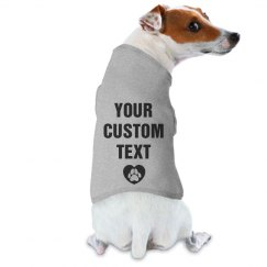 Custom Dog Baseball Tee