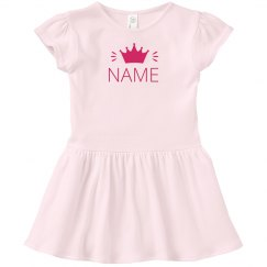 Crowned Custom Name Dress