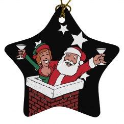Christmas Couple Ornament