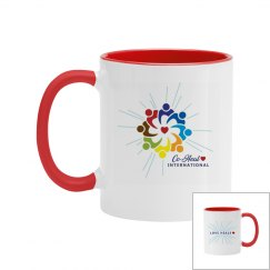 "Mug Multicolor ""Love Heals"""