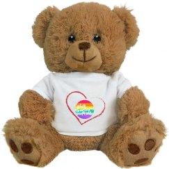 White Mountains Pride Teddy Bear