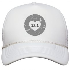 13.1 distressed hat