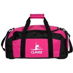 Claire gymnastics bag