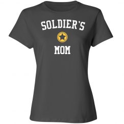 Soldier's mom