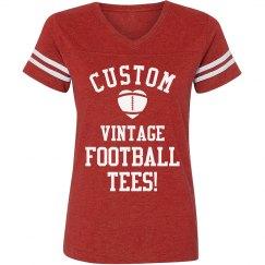 Custom Vintage Football T