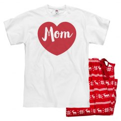 Matching Family Valentine Pajamas