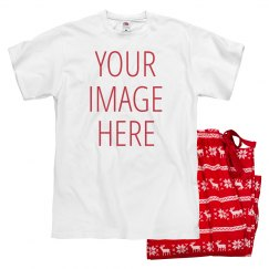 Upload Your Image Valentine PJs