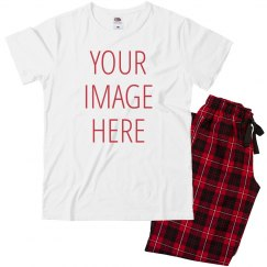 Custom Photo Valentine Pajamas