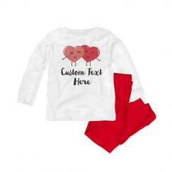 Custom Cute Baby Valentine Outfit