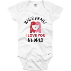 Dino Love Valentine Outfit Gift