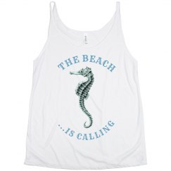 The Beach is Calling Tank I