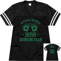His And Hers Offical Irish Drinking Team