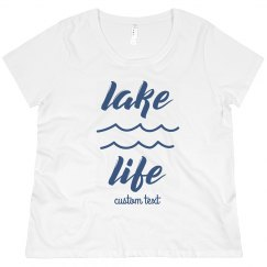 Lake Life Custom Plus Vacation Tee