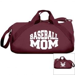 Baseball Mum Duffle Bag