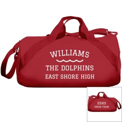 Make A Custom Swim Team Bag