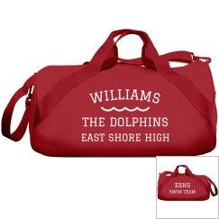 Make A Custom Swim Team Bag