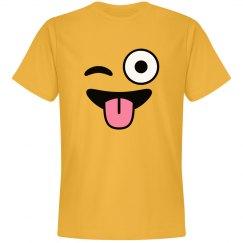 Emoji Winking Face Costume