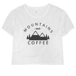 Trendy Mountains And Coffee