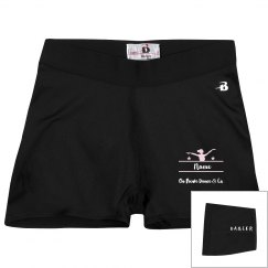 Ballet Pink Compression Shorts Fancy